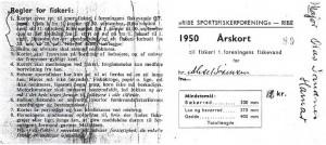 Årskort 1950