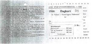 Dagkort 1946