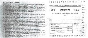 Dagkort 1950