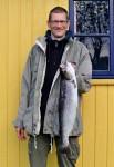 Lasse Bay havørred 65 cm og 3 kg. Gels å
