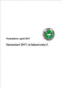 Nyhesbrev april 2017