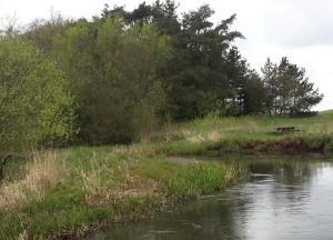 Motiv fra Gels Å opstrøms Poulsens plads