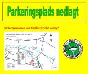 Karkovgaard P-plads nedlagt