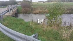 Motiv fra Harreby bro ved Flads å