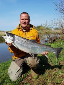 Allan Kjærgaard - Laks 99cm - 9.7 kg