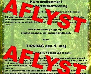 """RSF aflyser """"SENIOR FISKERTUR""""."""