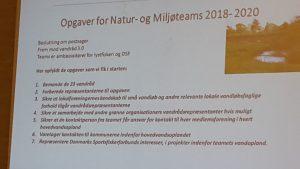 Opgaver for Natur- og Miljøteams 2018-2020