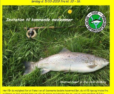 """Ribe Sportsfiskerforening inviterer til """"guide dag"""" for kommende medlemmer"""