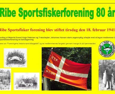Ribe Sportsfiskerforening 80 år
